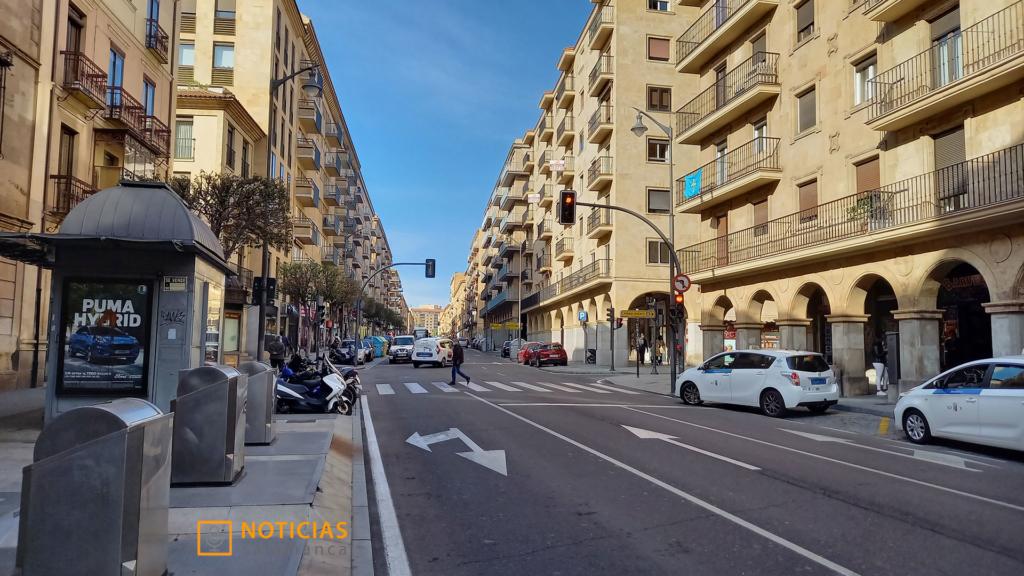 Gran Via de Salamanca