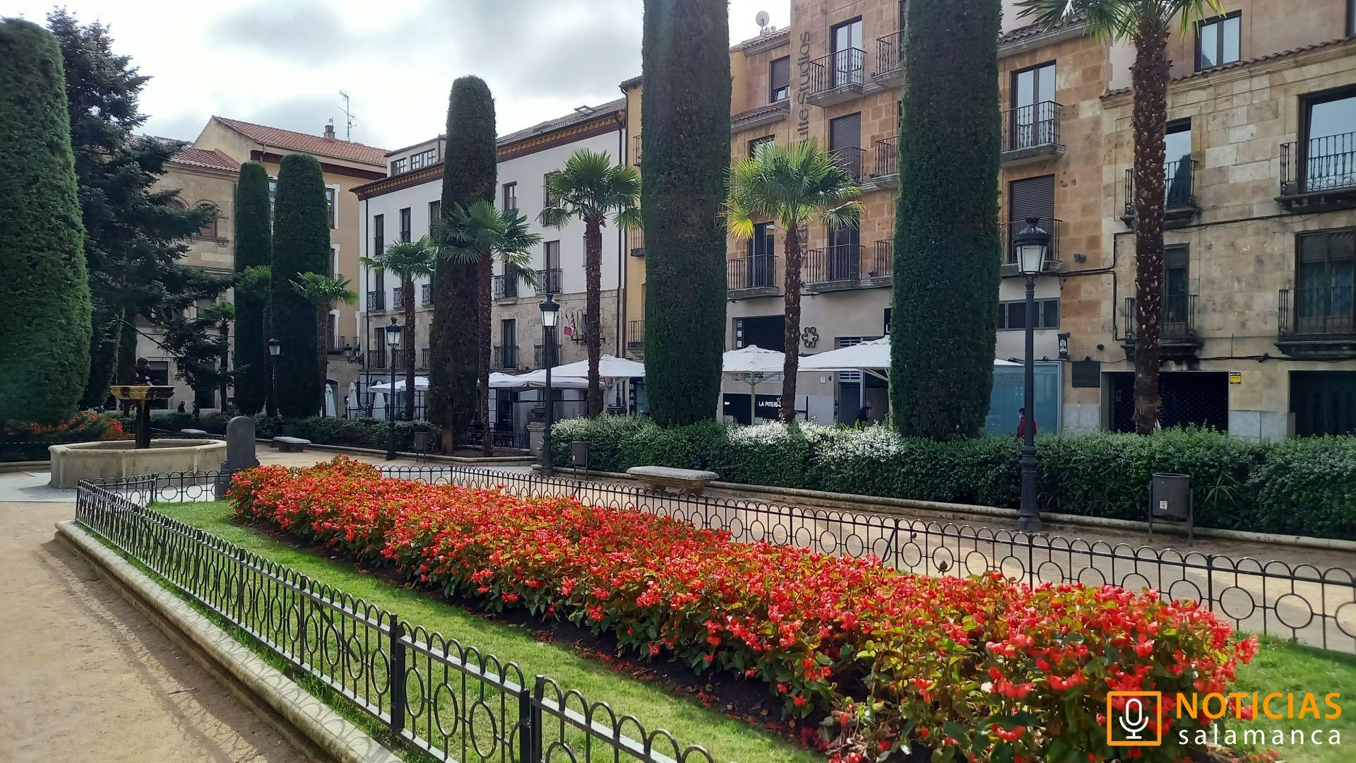Plaza de la Libertad - jardines