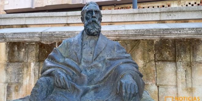 Escultura de Tomas Bretón