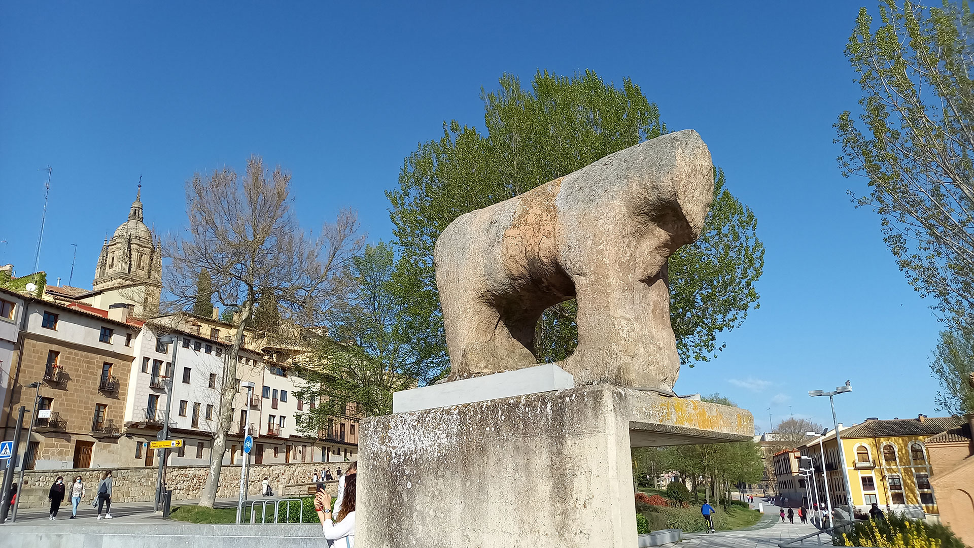 Verraco del Puente Romano