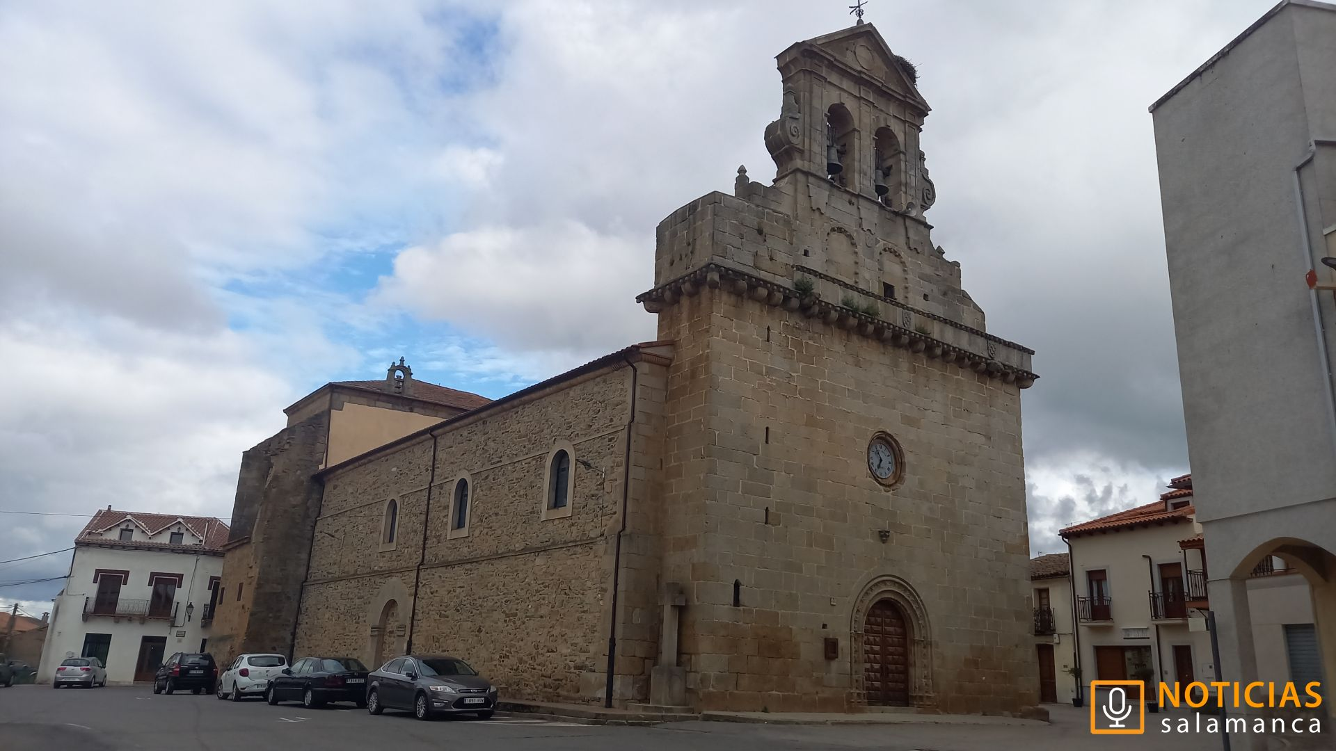 Iglesia de Tamames