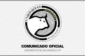 Comunicado oficial de Unionistas de Salamanca