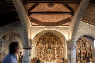 Naves de la Iglesia de Macotera