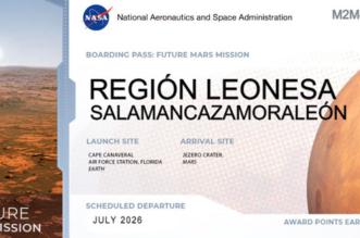 Región Leonesa en Marte