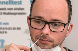 Test covid nasal