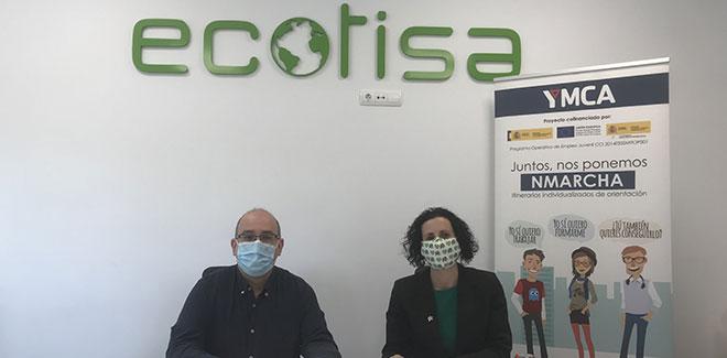 Ecotisa y YMCA Salamanca