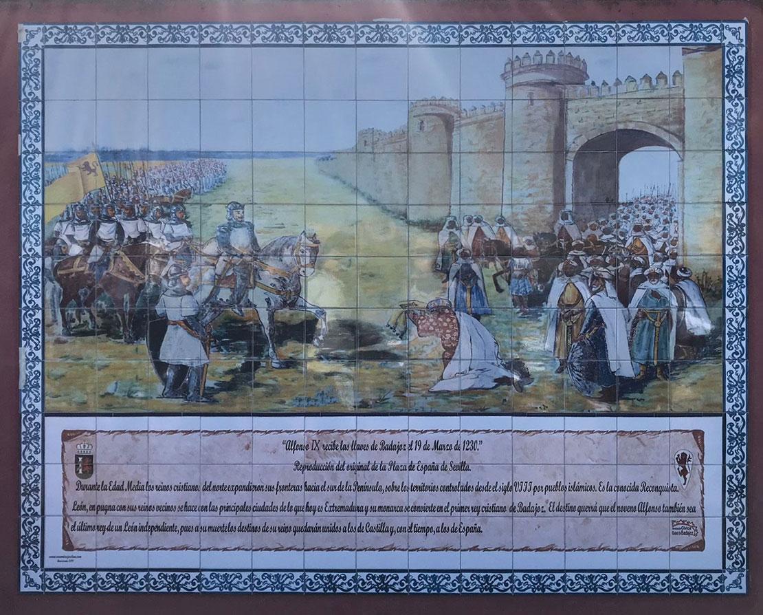 Mural de Alfonso IX