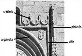 Puerta principal en Iglesia de Macotera