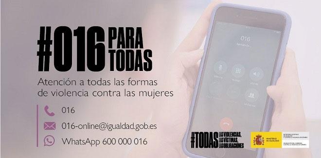 Teléfono 016 - Salamanca