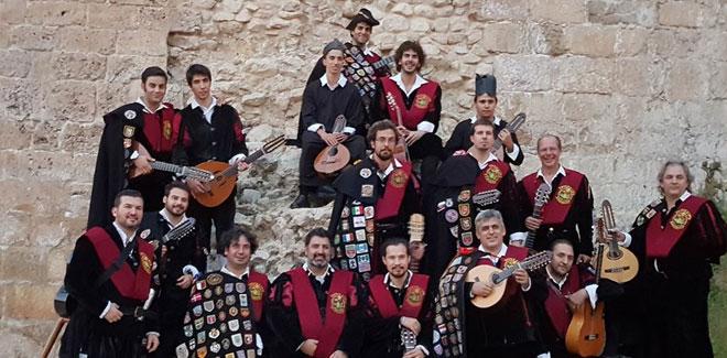 Tuna universitaria de Salamanca