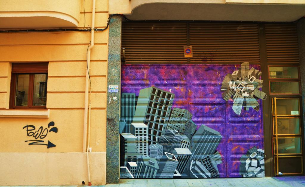 Arte urbano en Barrio del Oeste