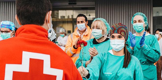 Voluntarios Cruz Roja Salamanca