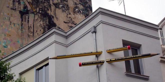 Los lápices del Barrio del Oeste