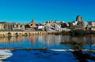 Río Tormes en Alba de Tormes