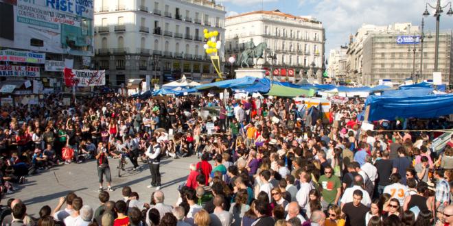 15-M - Puerta del sol Madrid