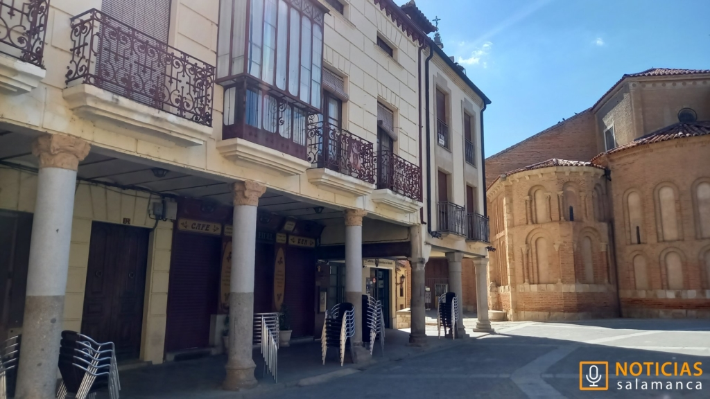 Plaza Mayor de Alba de Tormes