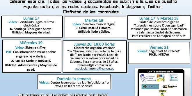 Día de Internet en Carbajosa