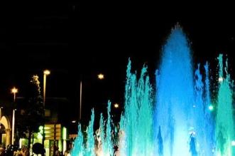 Fuente azul y verde Puerta Zamora