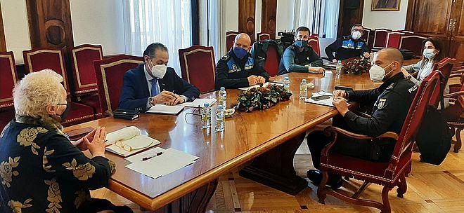 Reunión seguridad Subdelegación del Gobierno