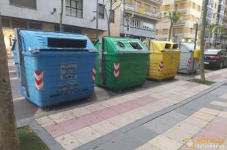 Basura en Salamanca