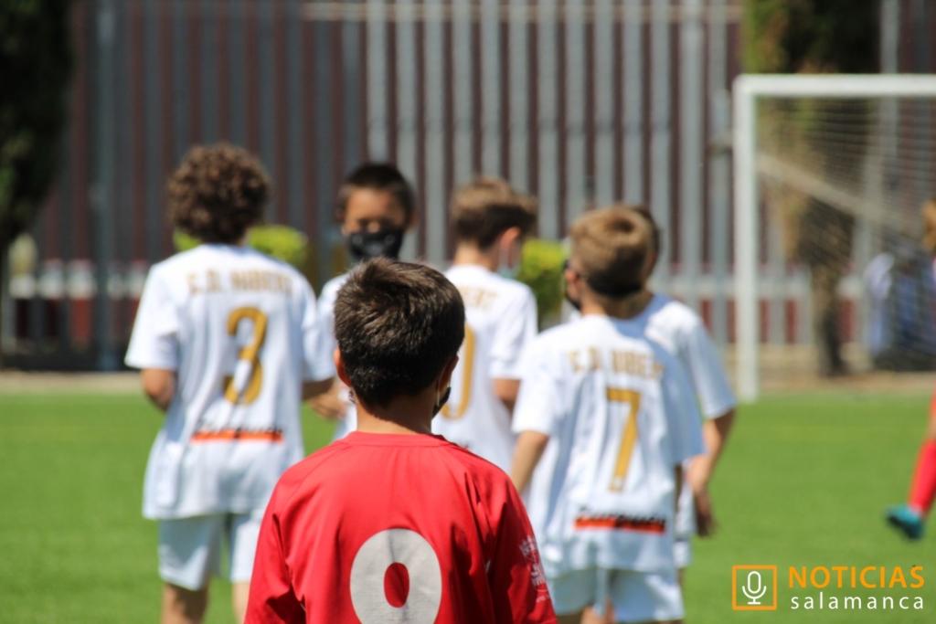 Fútbol base en Salamanca