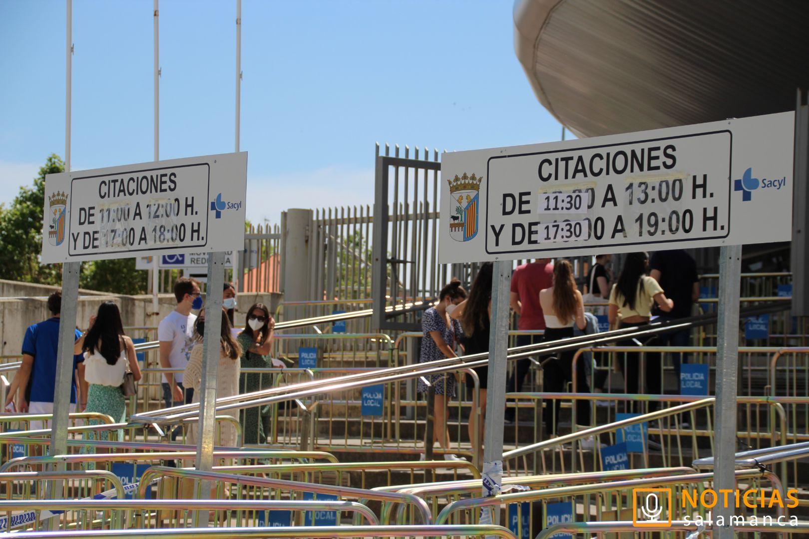 Vacunación en el Multiusos - Salamanca