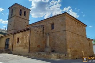 Iglesia de Santa Cruz - Aldeaseca de la Armuña