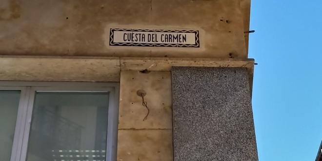 Calle Cuesta del Carmen