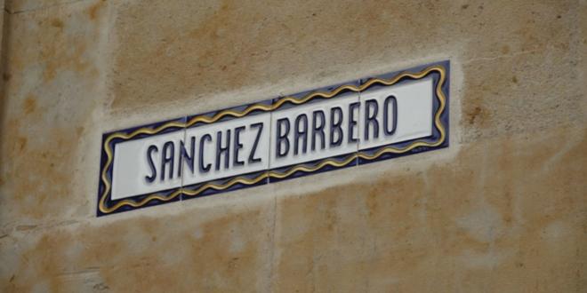 Calle Sánchez Barbero