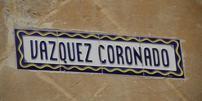 Calle Vázquez Coronado