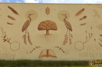Juzbado - Mural Libro abierto