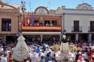 Procesión de San Roque en Macotera