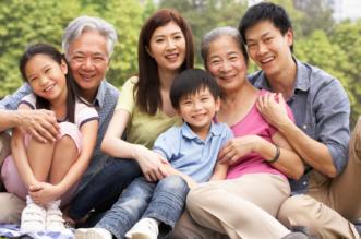 familia tradicional china