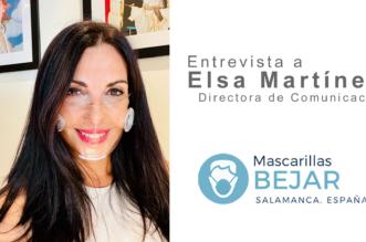 Elsa Martinez - Mascarillas Béjar