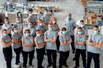 Trabajadores de Mascarilla Béjar